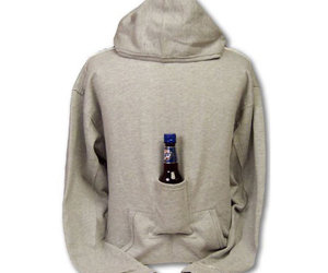 Beer Hoodie - Sweatshirt With Beer Pouch