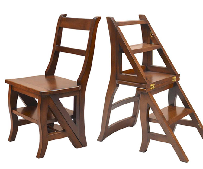 Benjamin Franklin Step Ladder Chair