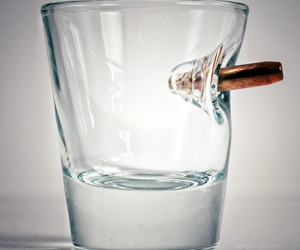 BenShot Bulletproof - Shot Glass With Real Bullet