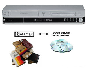 Betamax to HD-DVD Converter