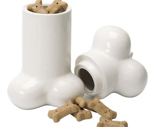 Big Bone - Ceramic Dog Treat Cookie Jar