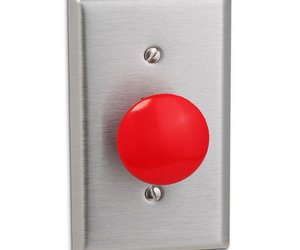Big Red Panic Button Light Switch