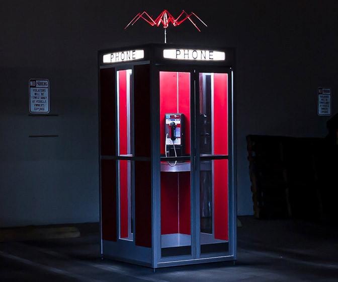 Bill and Ted's Excellent Phone Booth