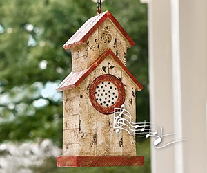 Birdhouse Bluetooth Outdoor Speaker