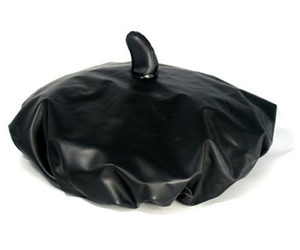 Black Beret Shower Cap