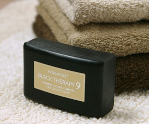Black Therapy 9 - Bamboo Charcoal Soap