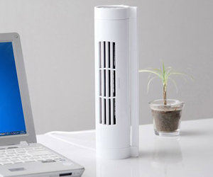 Bladeless Horizontal / Vertical Desk Fan