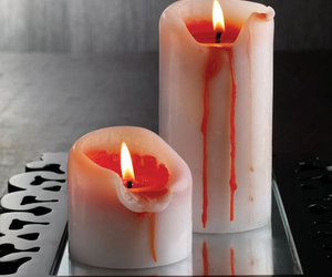 Bleeding Pillar Candles