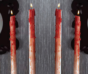 Bleeding Taper Candles