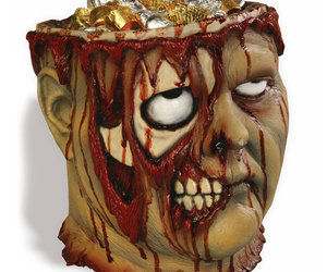 Bleeding Zombie Head Bowl