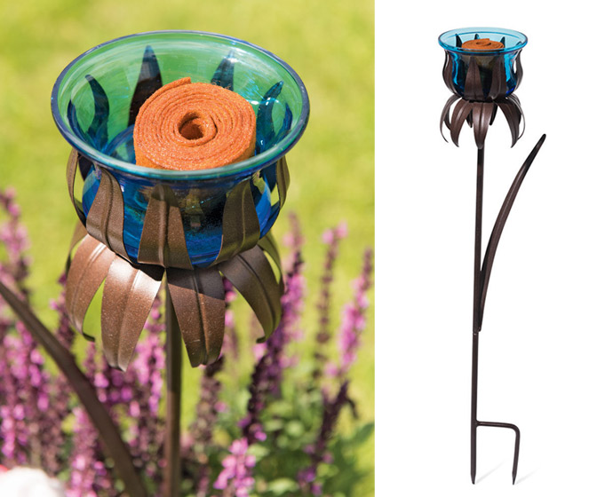 Blossom Butterfly Feeder Stake