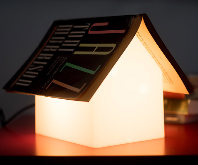 Book Rest Night Light