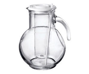 Bormioli Rocco Kufra Pitcher with Ice Container Insert