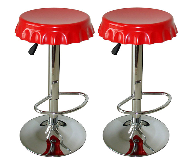 Bottle Cap Barstools