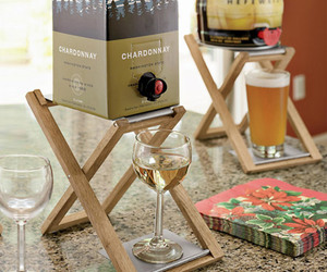 Boxed Wine Stand