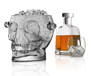 Brainfreeze - Glass Skull Ice Bucket