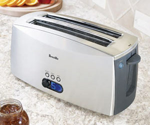 Breville Ikon Lift and Look Toaster - 4 Slice