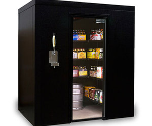 Brew Cave - Walk-In Beer Cooler and Kegerator