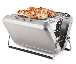 Briefcase Barbecue - Concealed Portable Charcoal Grill