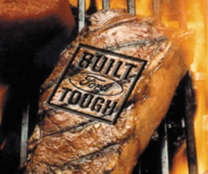 Built Ford Tough - Branding Iron