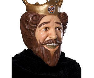 Burger King - Creepy King Halloween Mask