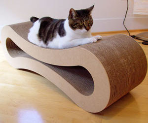 Cardboard Cat Lounger