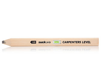 Carpenter's Pencil With Built-In Bubble Level