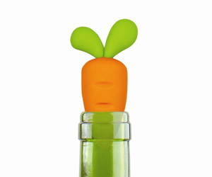 Carrot Bottle Stopper