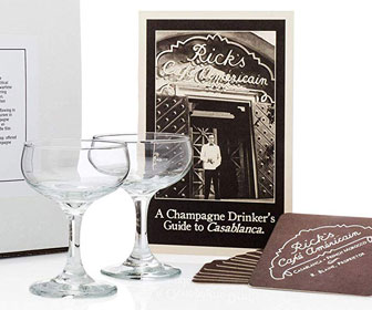 Casablanca Champagne Coupe Set