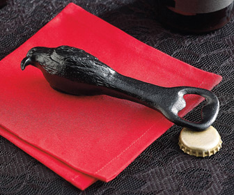 Cast Iron Raven Bottle Opener
