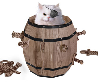 Cat Barrel Playhouse