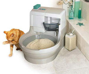 Cat Genie - Automatic Flushing Litter Box