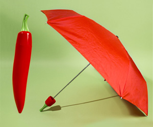 Cayenne and Jalapeno Chili Pepper Umbrellas