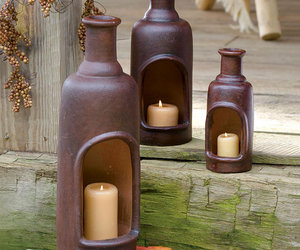 Ceramic Candle Chimneys