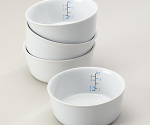 Ceramic Portion Control Bowls
