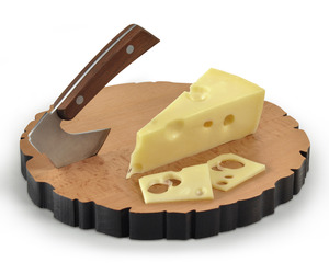 Cheese Log - Chopping Axe and Cheese Board Set