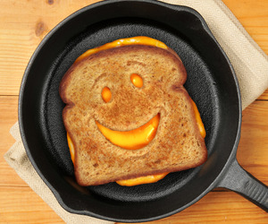 Cheesy Grin Sandwich Cutter