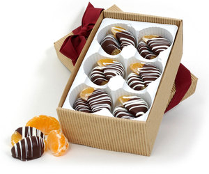 Chocolate-Dipped Clementines