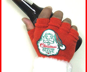 Christmas Drinking Gloves