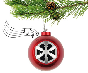 Christmas Ornament Bluetooth Speaker