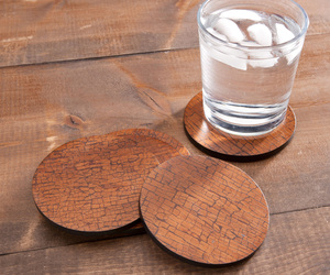 Cinnamon Bark Coasters