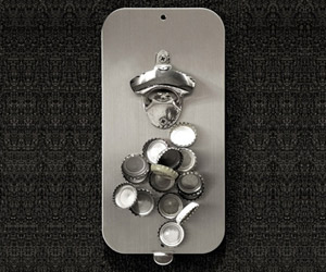 Clink N Drink - Bottle Opener With Magnetic  Cap Catcher