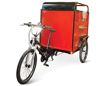 Coaster Pedicab Beer Trike
