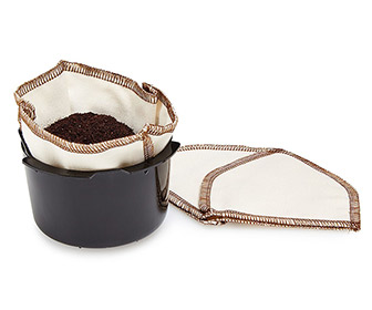 CoffeeSock - Reusable Organic Cotton Coffee Filters