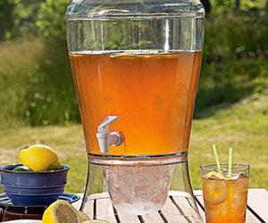 Giant Mason Jar Beverage Dispenser The Green Head