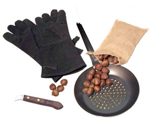Complete Chestnut Roasting Kit