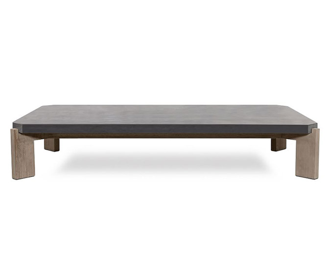 Concrete Slab Coffee Table