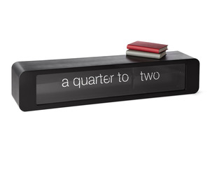 Conversational Words Flip Clock