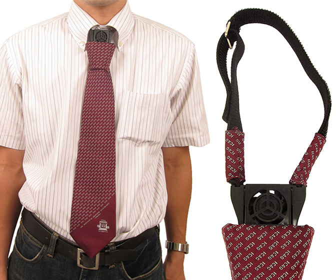 Cooling Fan Necktie