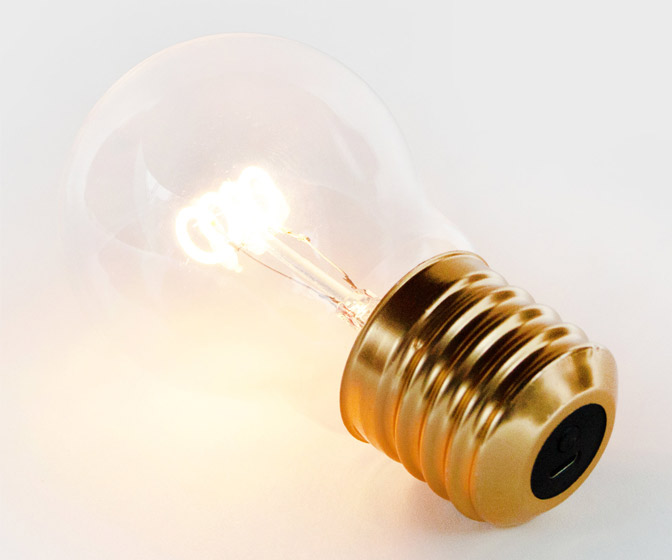 Cordless Filament Light Bulb